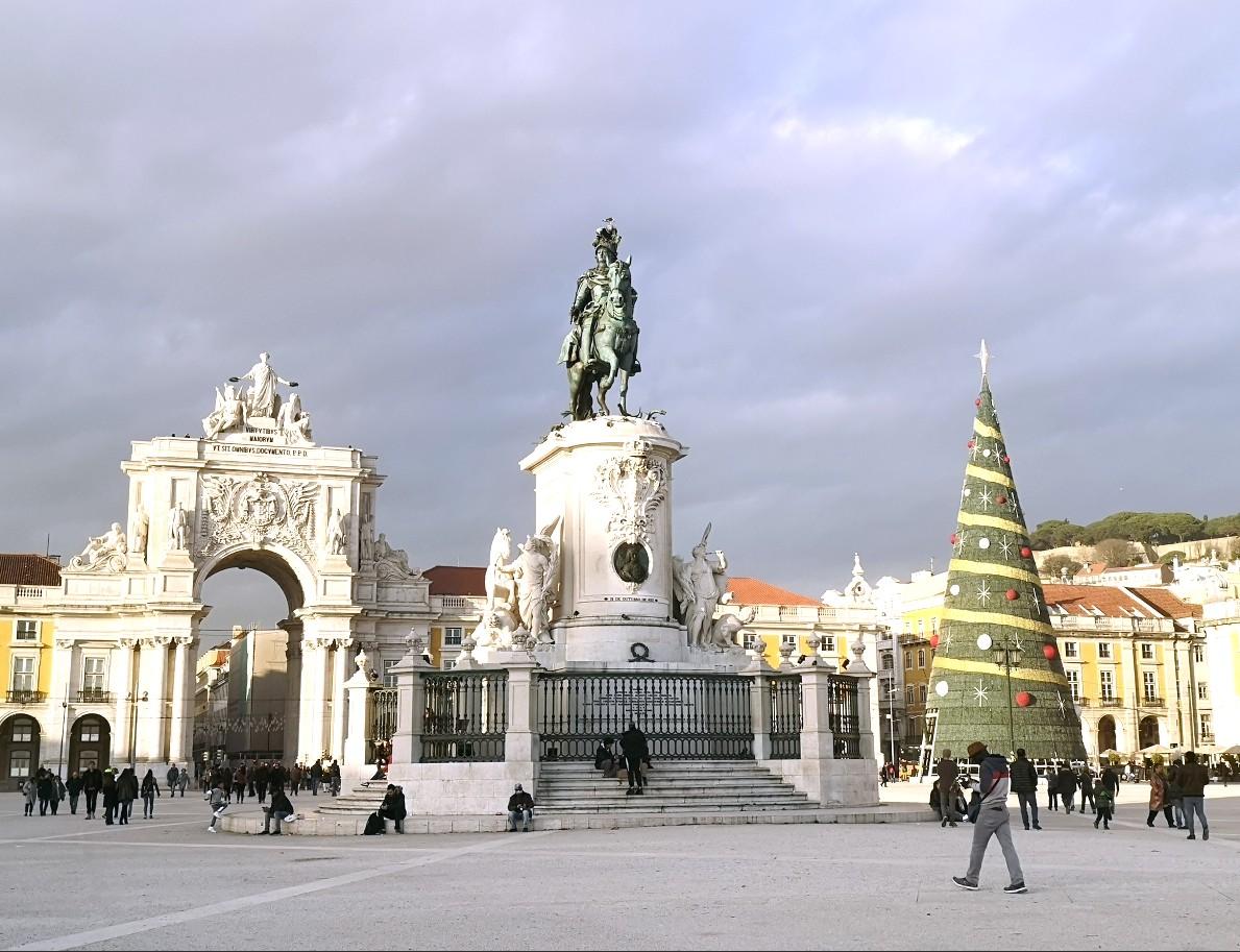 Lisbon after earthquake