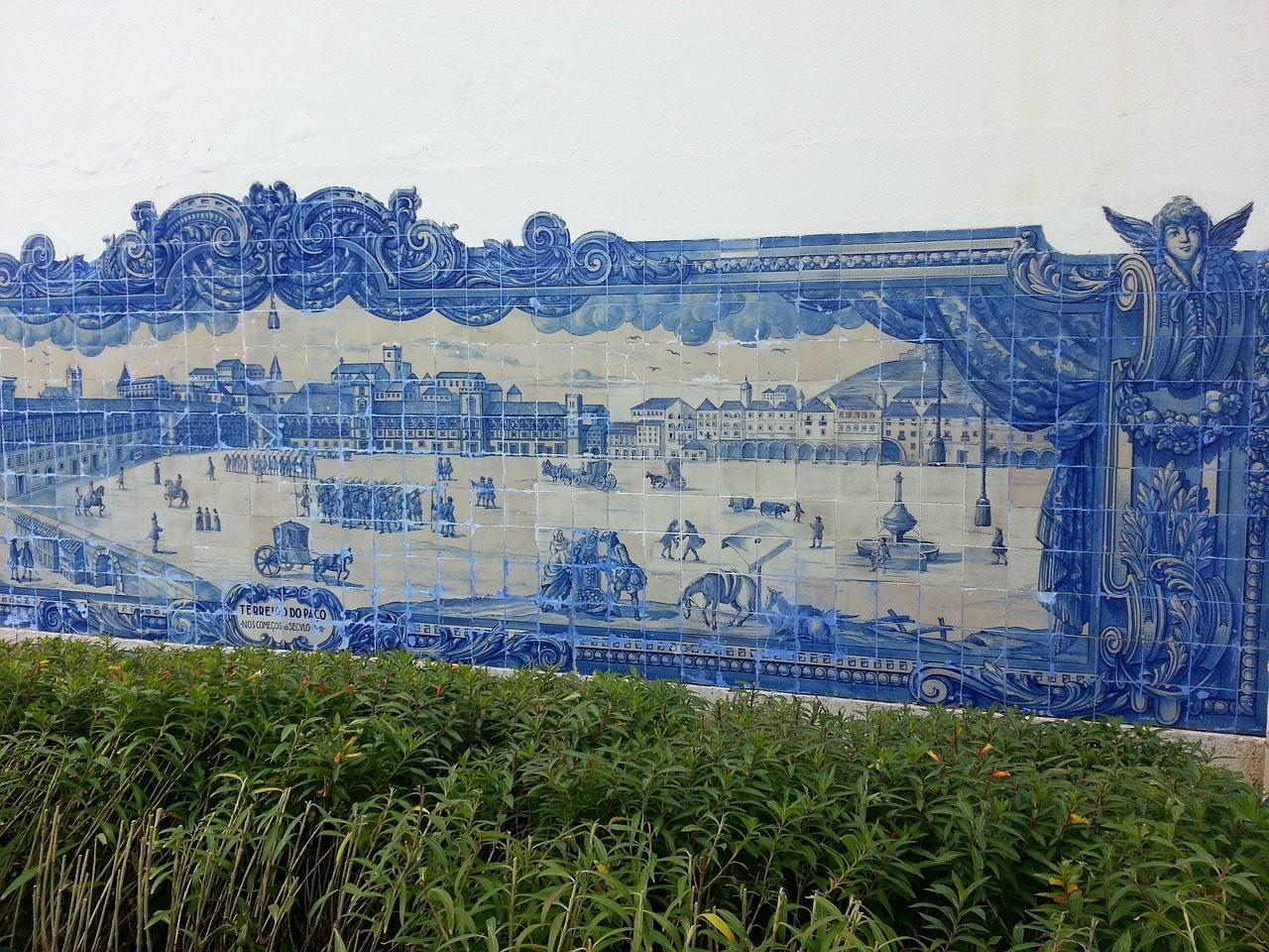 Lisbon tiles ceramics