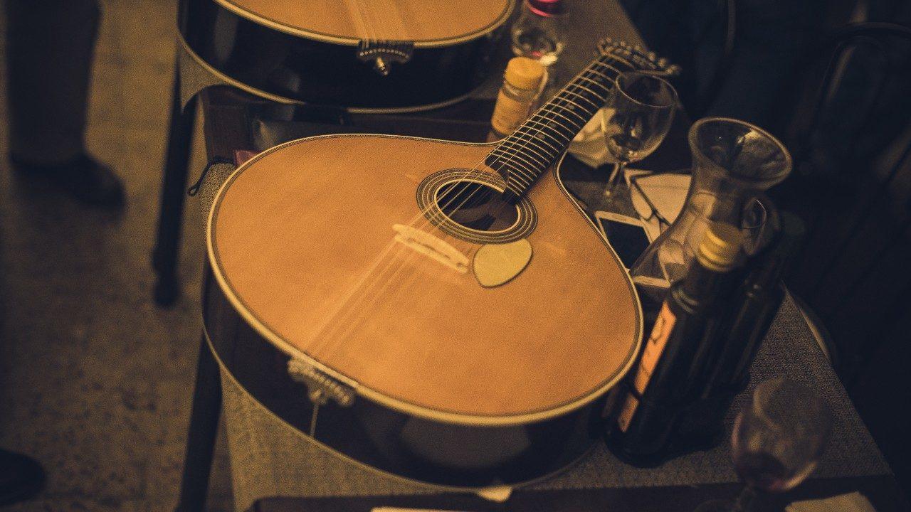 Portuguese guitar fado