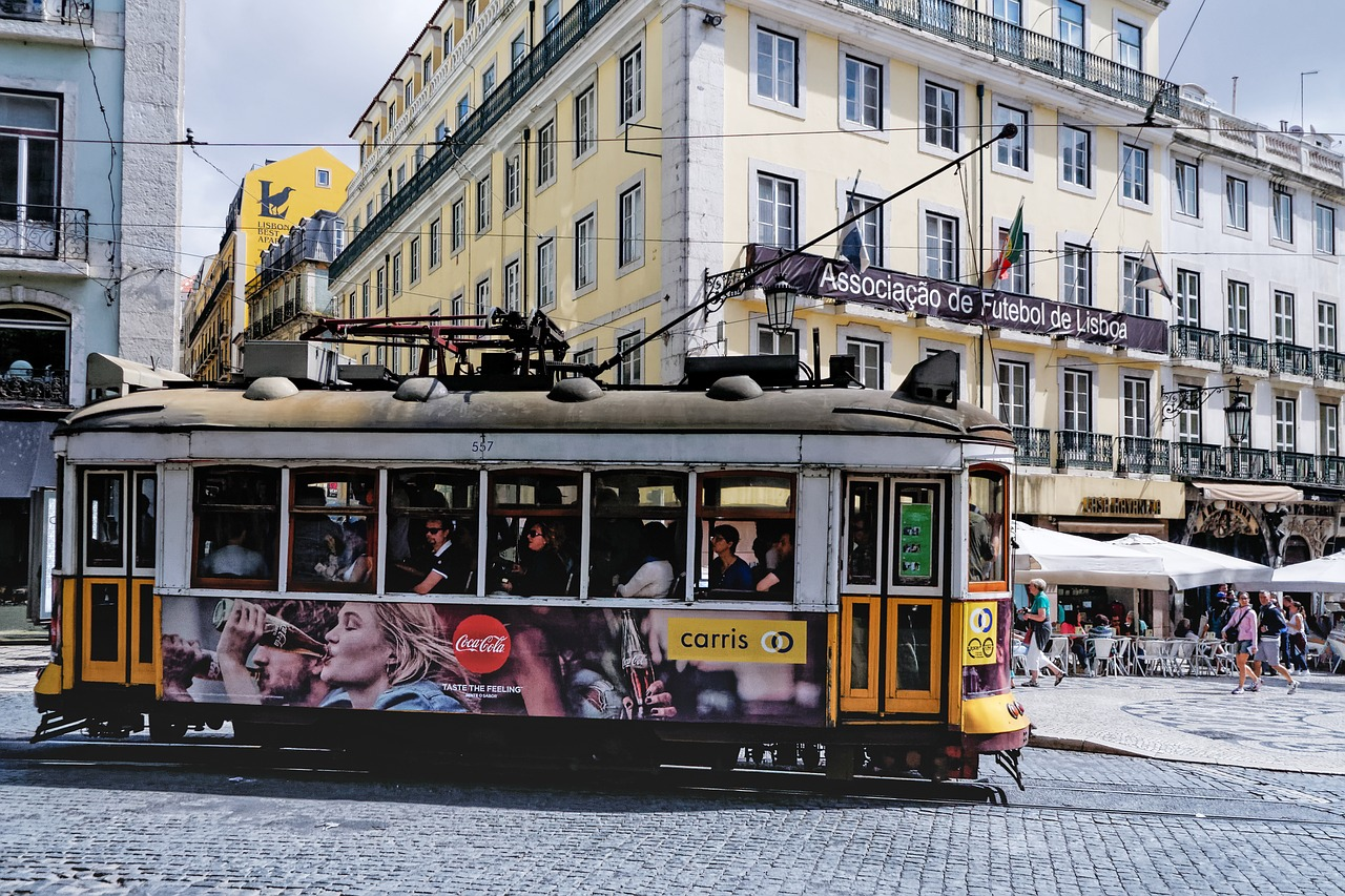 Lisbon For Solo Travellers colourful tram