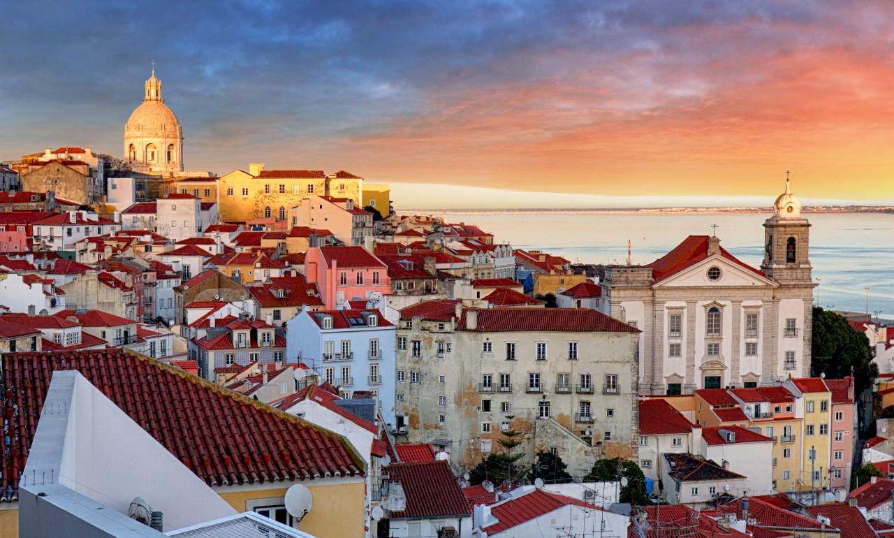 Lisbon for couples romantic colours and architecture