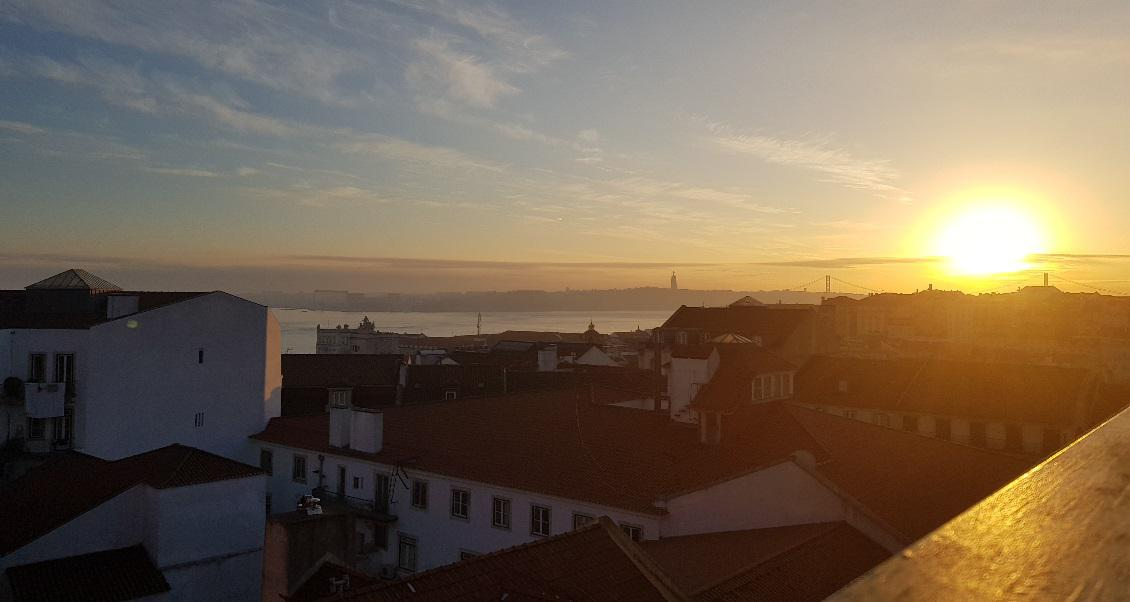 Lisbon for millennials sunset