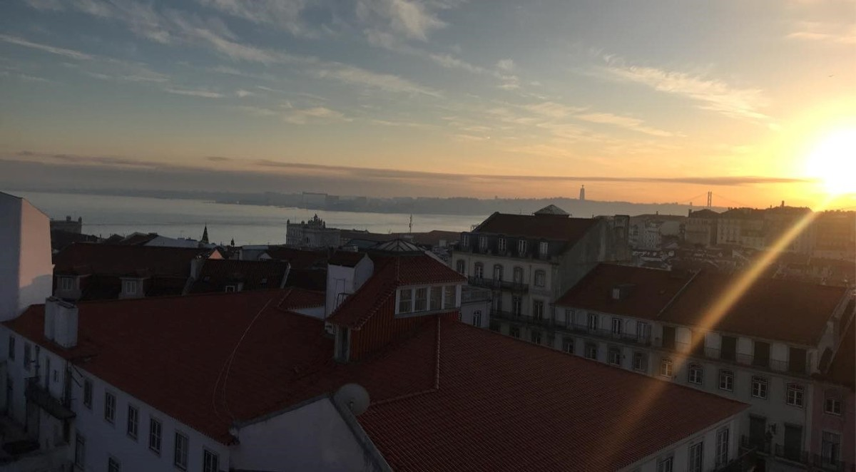 Lisbon overlooking the River Tagus