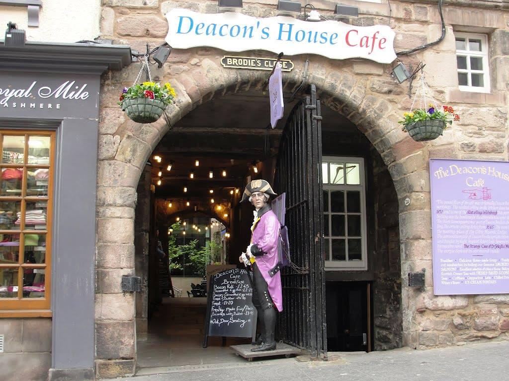 breakfast Edinburgh Deacons House Cafe