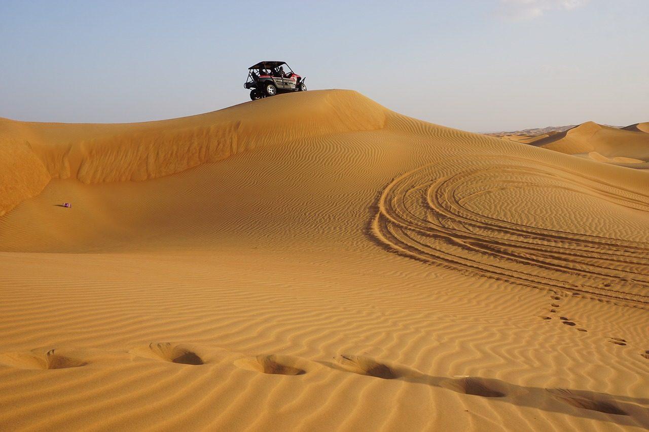 dubai desert 4x4