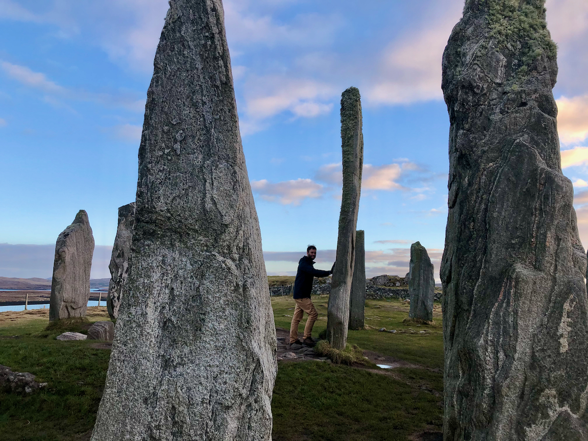 Callanais Standing Stones on the Isle of Lewis, Scotland