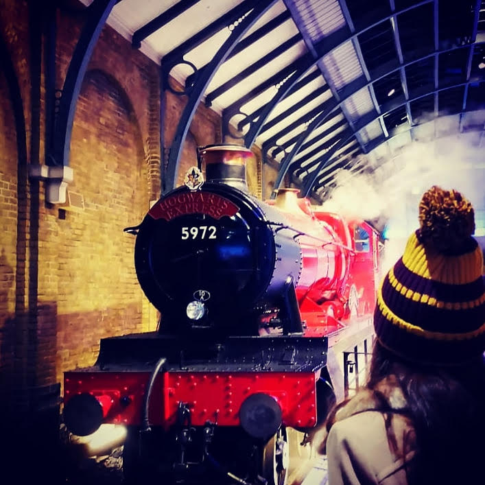 Harry Potter travel by train post COVID-19