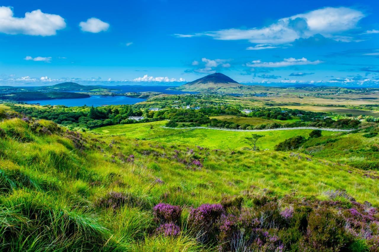 Landscape and Coast Connemara Clifden Ireland