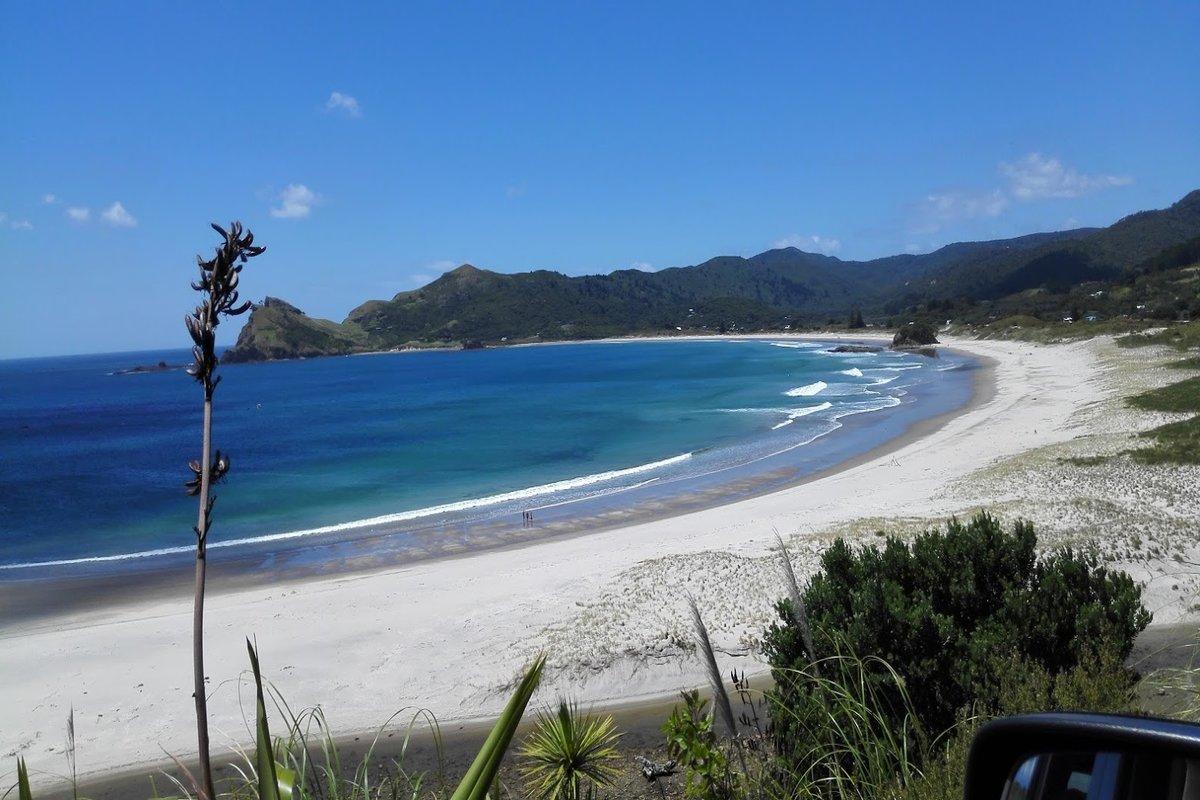 Medlands Beach Great Barrier Island New Zealand
