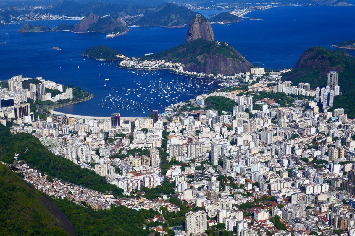 Rio de Janeiro viewed from Corcovado