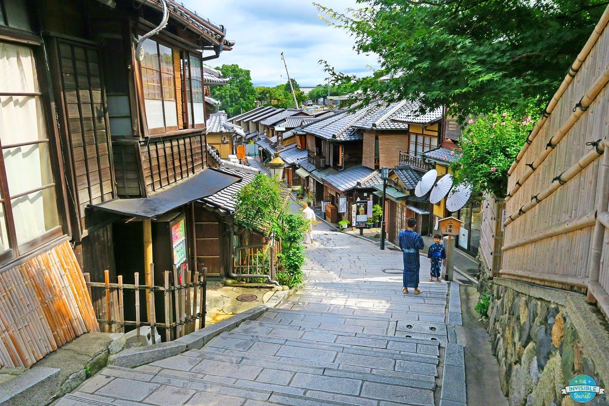 Ninenzaka Slope, Kyoto, Japan | The Invisible Tourist