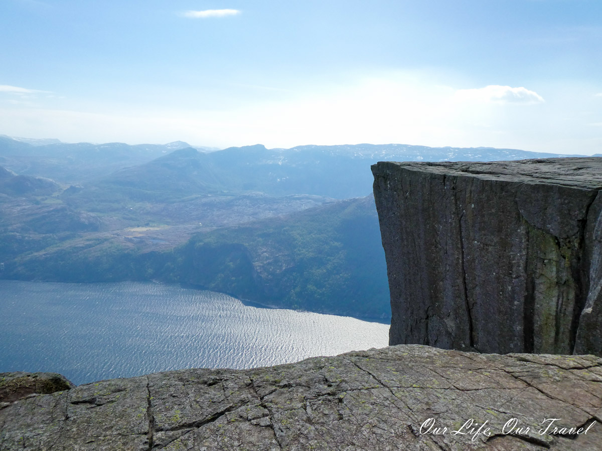 tourism post COVID-19 Pulpit Rock in Norway