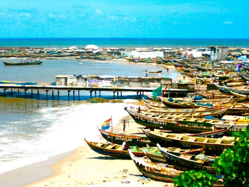 Accra beach Ghana