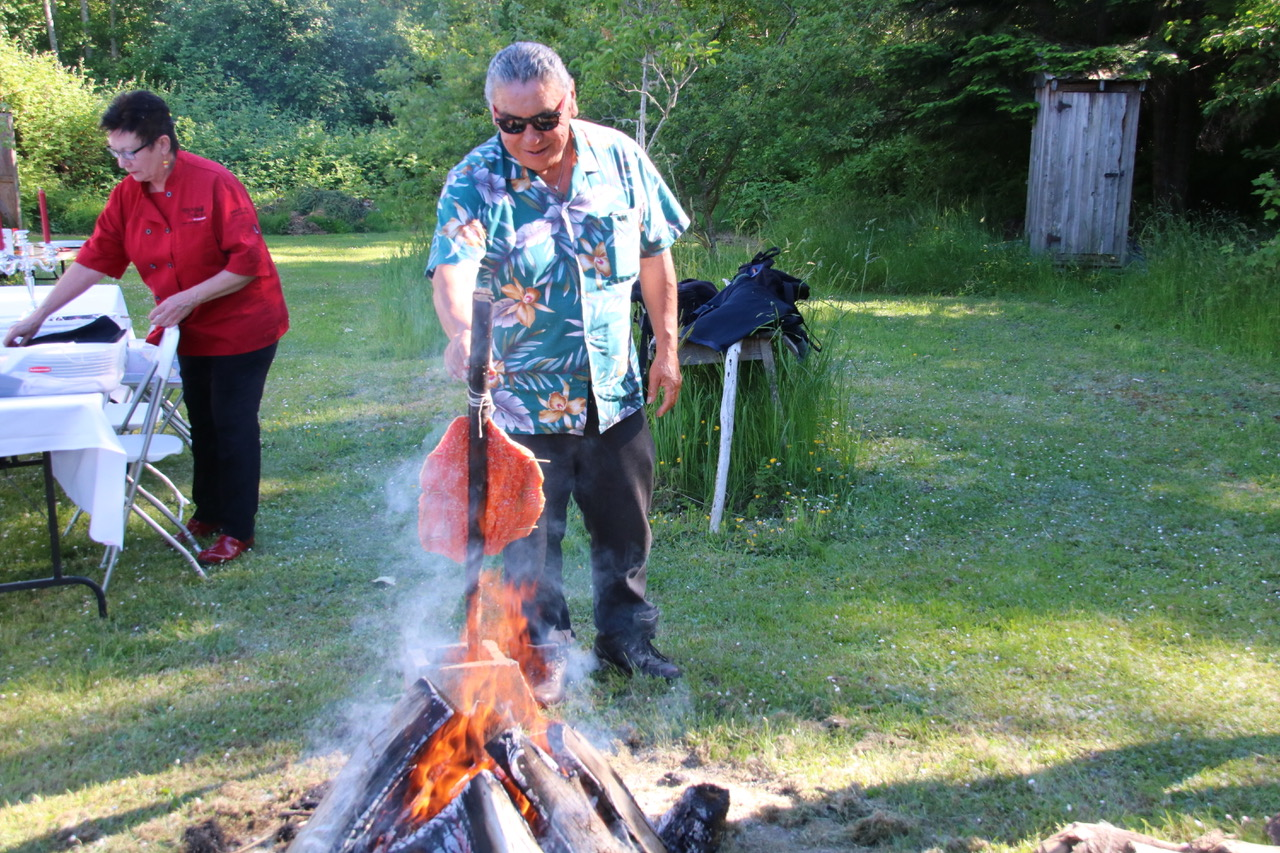British Columbia indigenous tourism Tsawout elder Earl Claxton