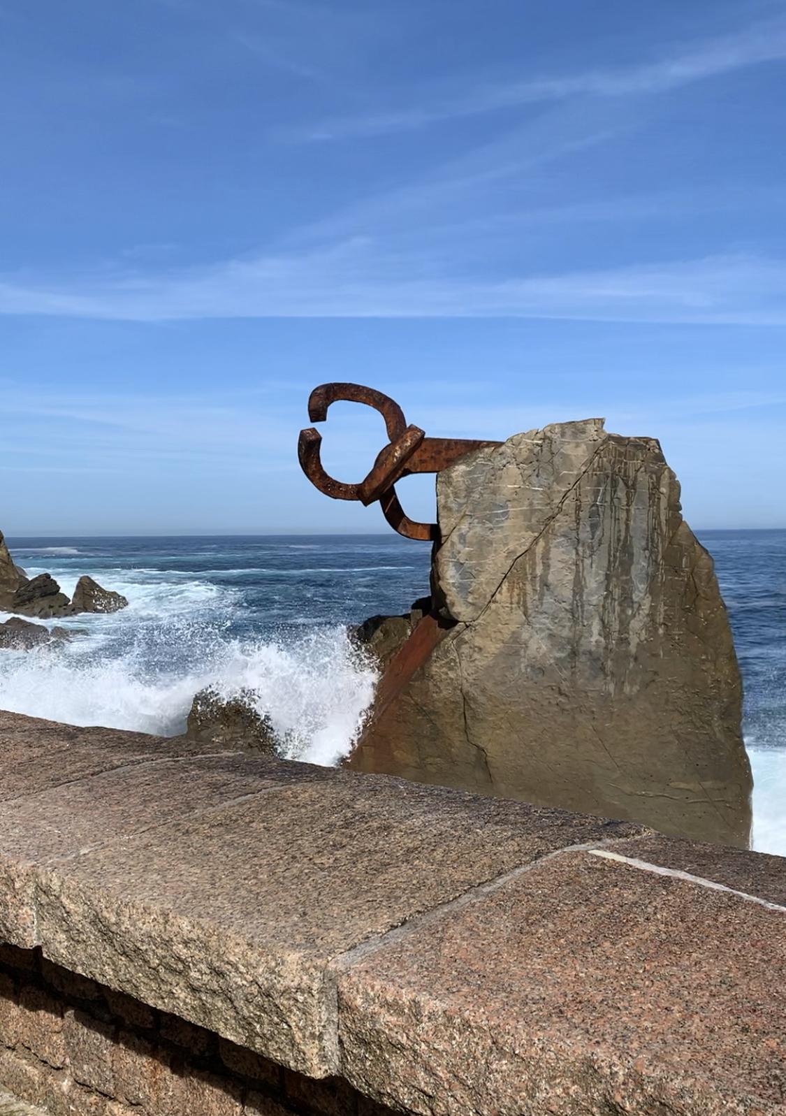 San Sebastian Spain-Comb of the Wind