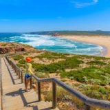 retire to portugal Praia do Bordeira