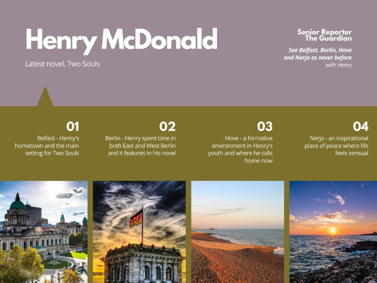 Henry McDonald Travel Inspires