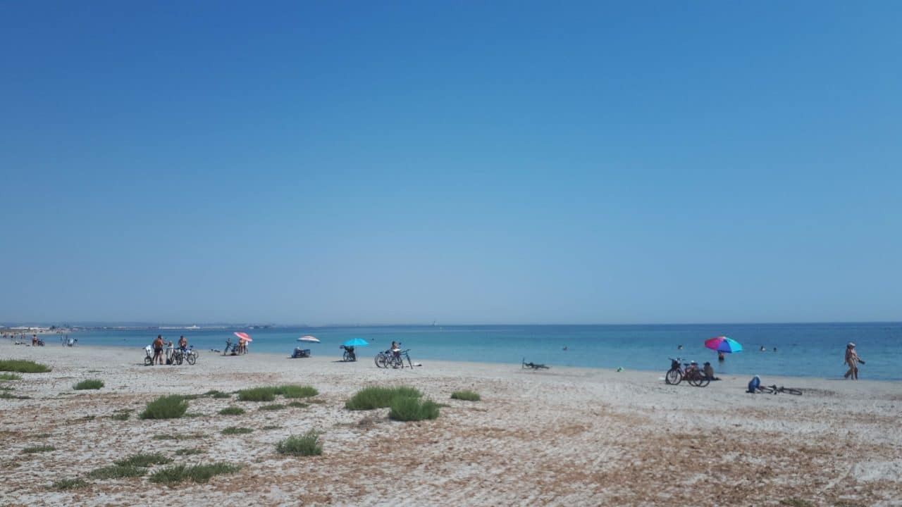 Playa de la Llana San Pedro del Pinatar Murcia