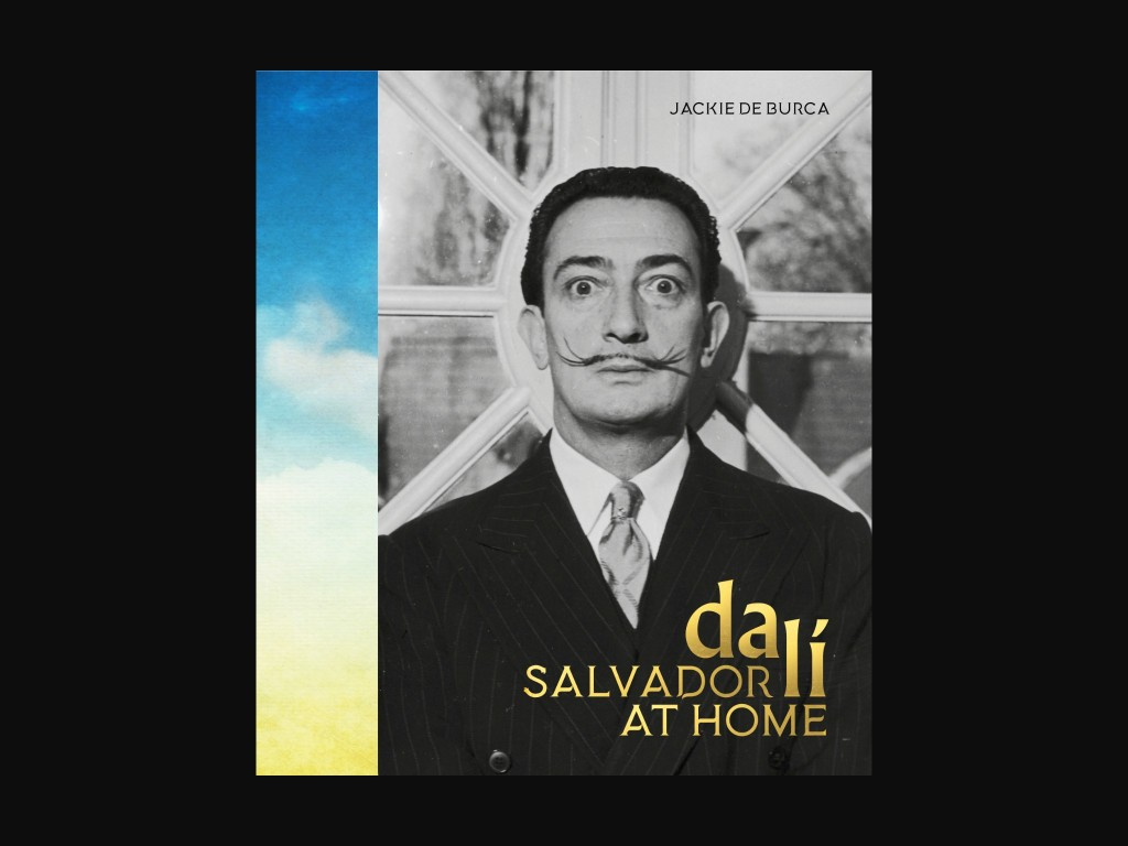 Salvador Dali at Home by Jackie De Burca-1024