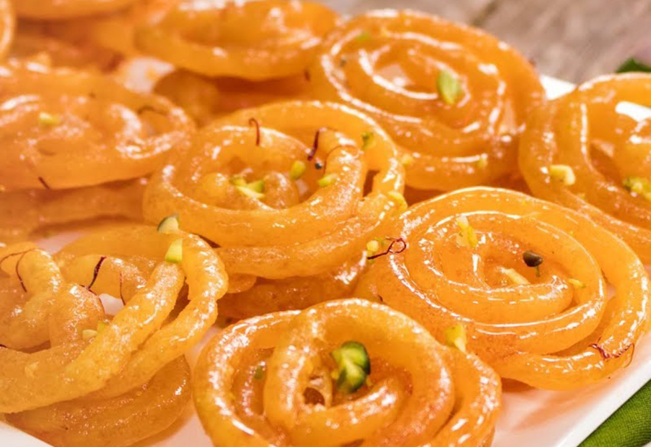best vegetarian dishes India Jalebi
