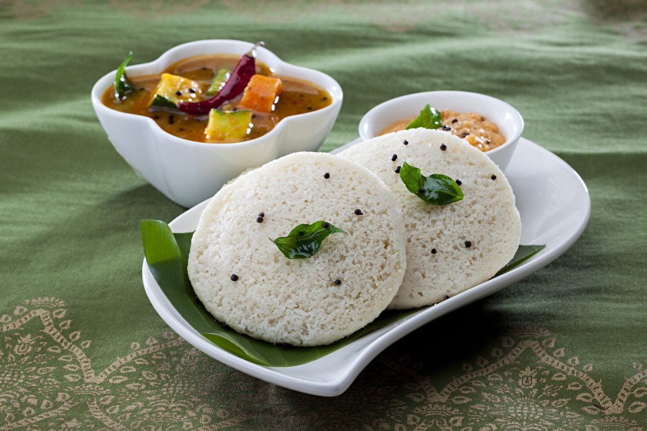 best vegetarian dishes India Idly