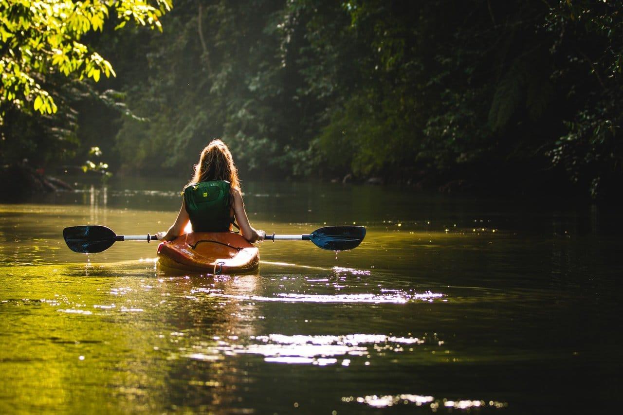 Kayaking in Mauritius on your honeymoon