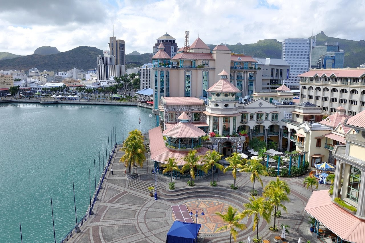 Visit the city of Port Louis during your honeymoon