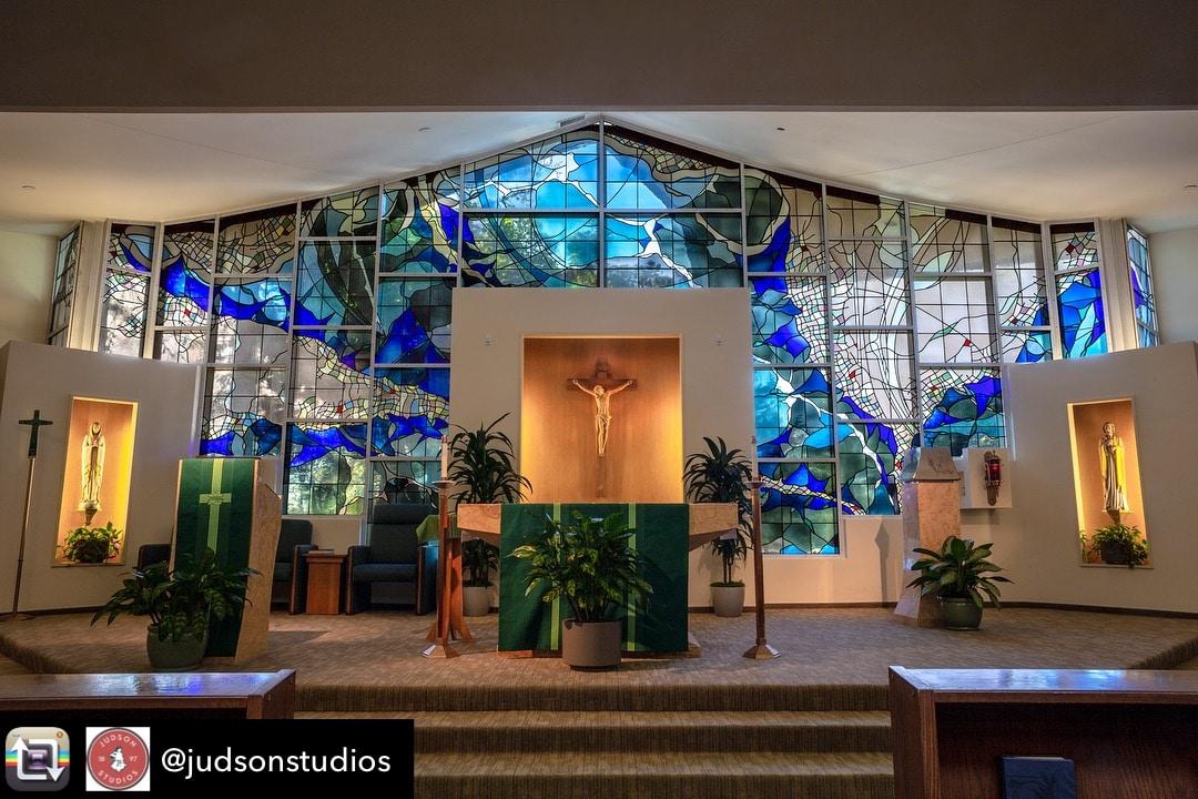 St Jude's Hospital Chapel, Fullerton, California