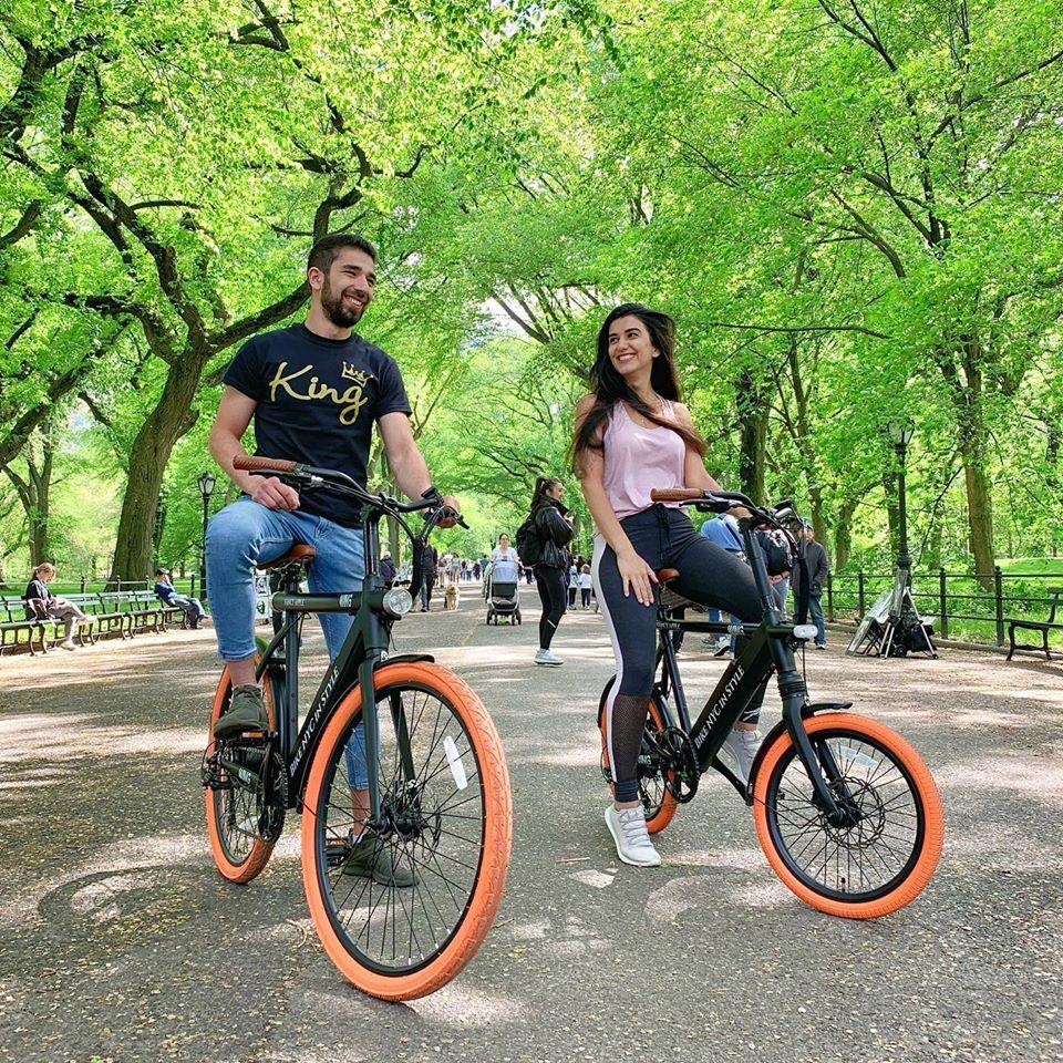 romantic bike tours New York City