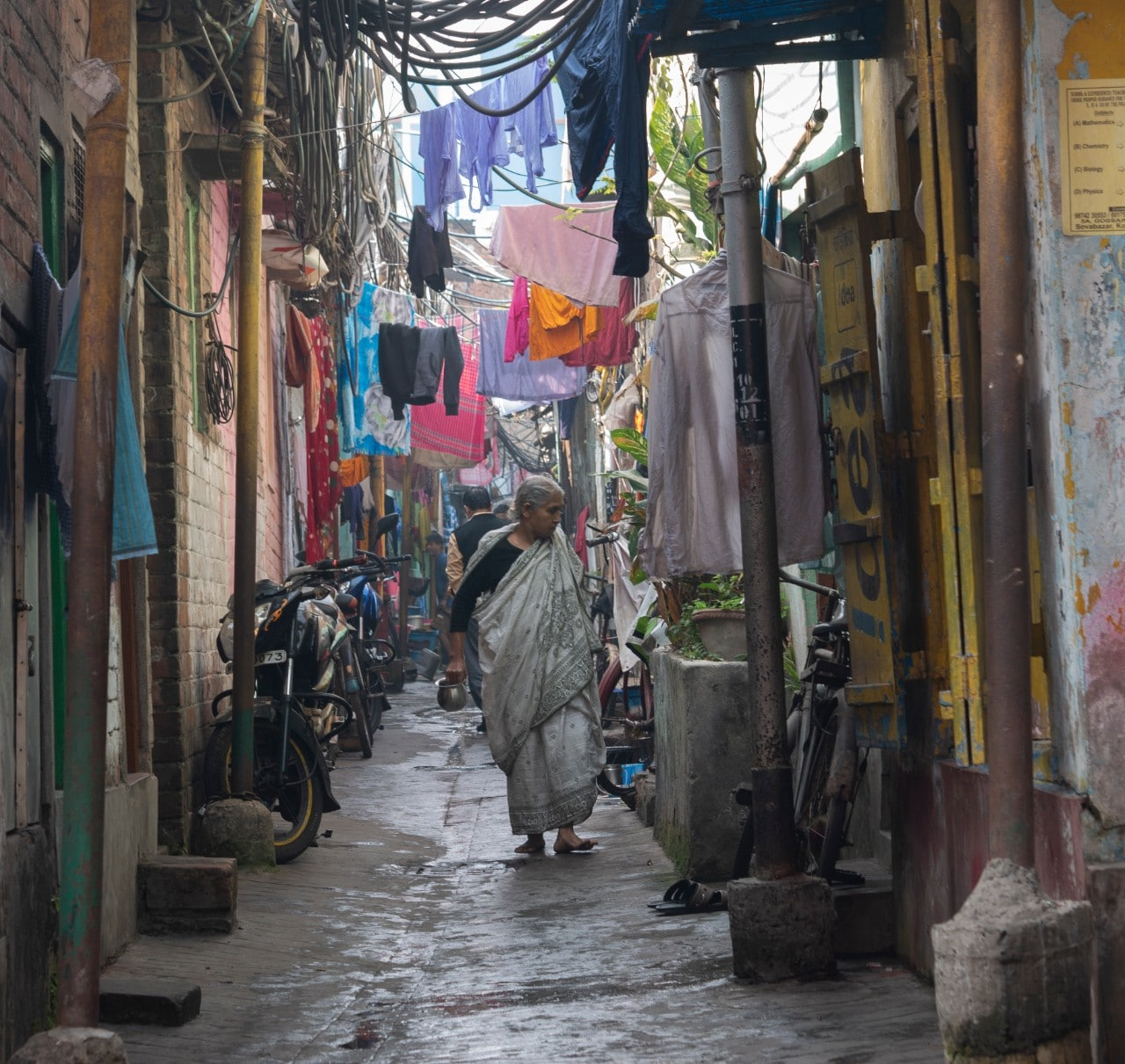 Alley in India Malachi O'Doherty