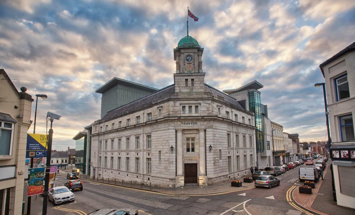 Ballymena Town Hall Jan carson author home town