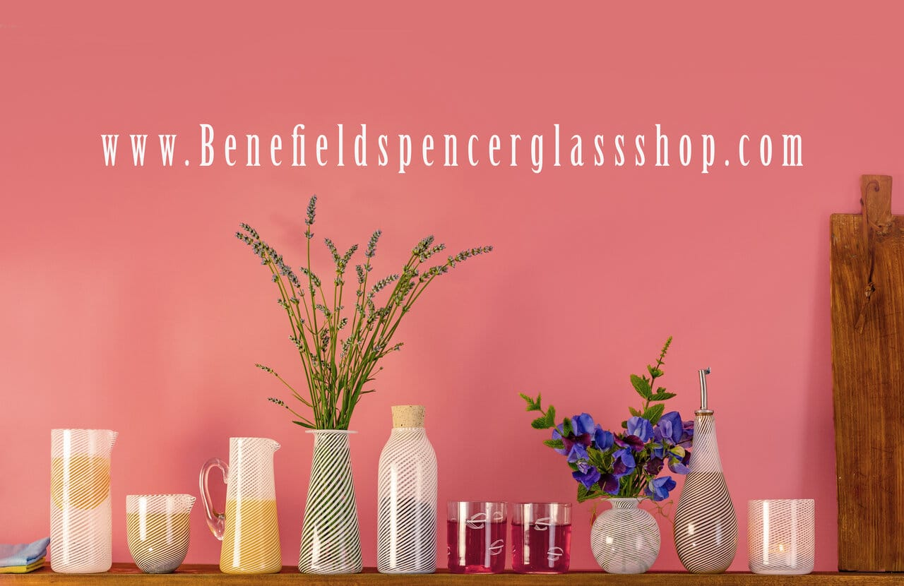 Benefield Spencer Glass - shop banner
