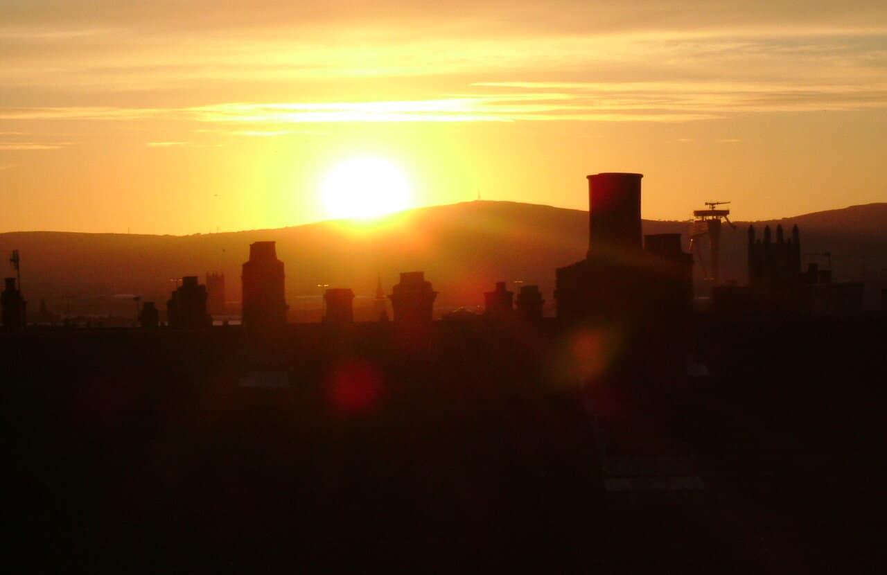 East Belfast Sunset
