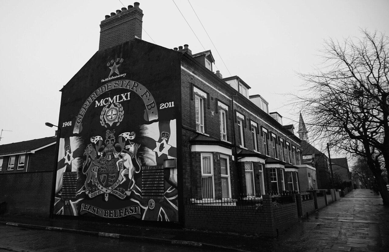 East Belfast mural