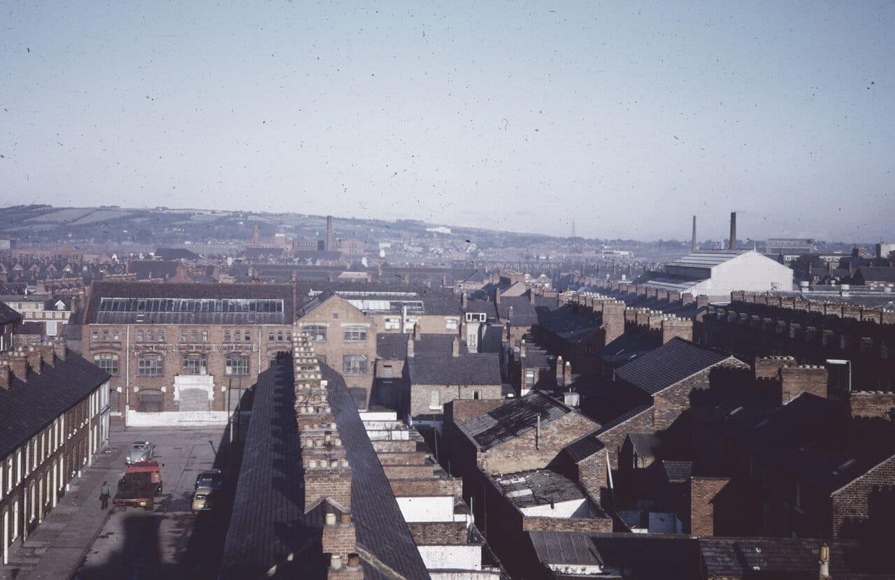 Harper Street, Short Strand, East Belfast 1973