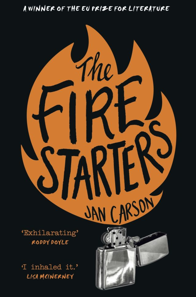 Jan Carson inspirational places The Fire Starters cover