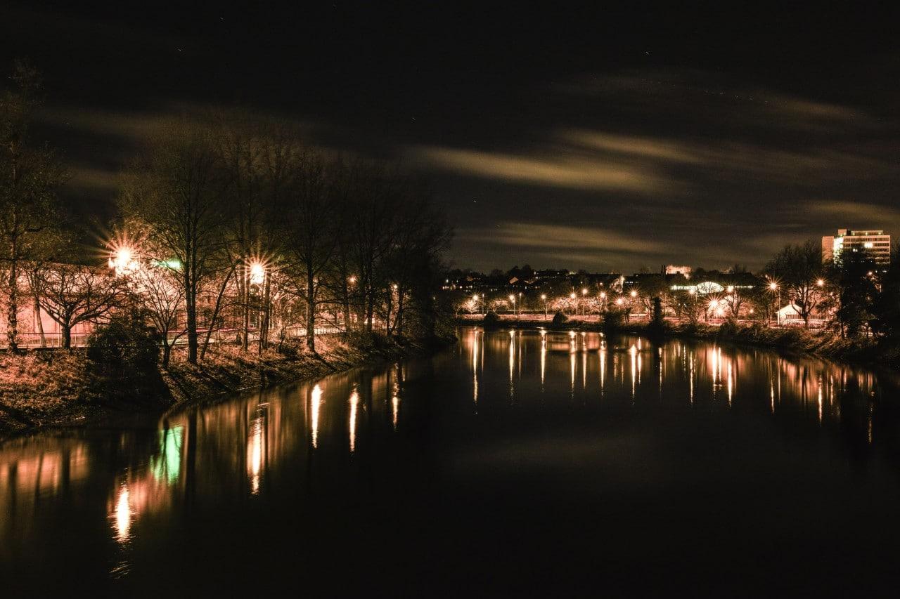 Lagan by Night Belfast Malachi O'Doherty