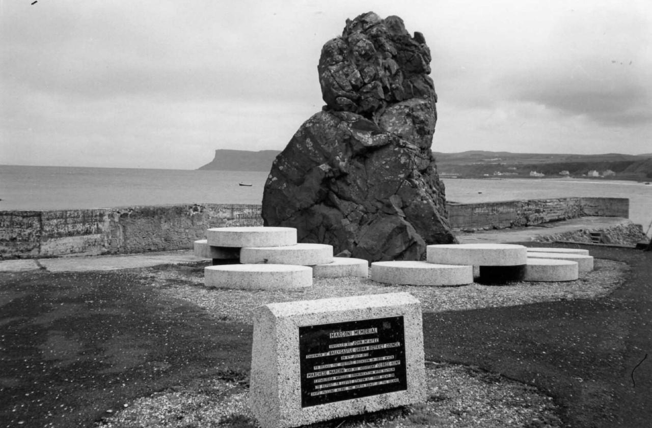 Marconi Memorial, Ballycastle Co Antrim, June 1990
