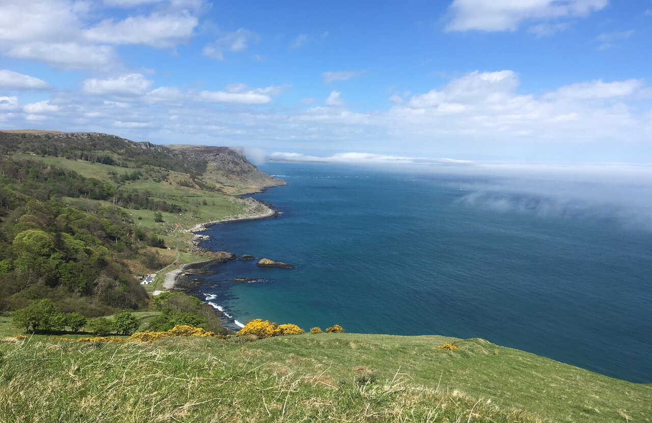 Murlough Bay Cliff walk Andrea Spencer