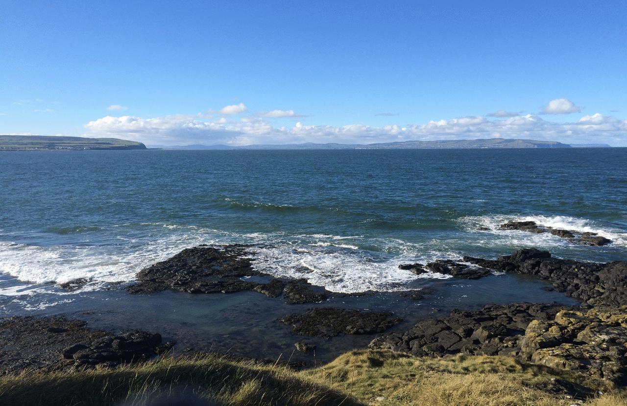 Portstewart Bay Northern Ireland with Emma Thorpe