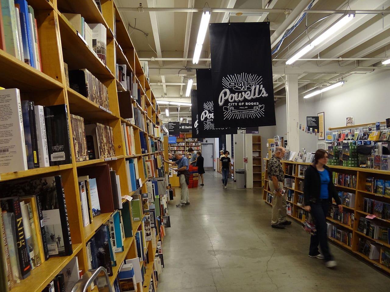 Powells bookstore Portland Oregon Jan Carson