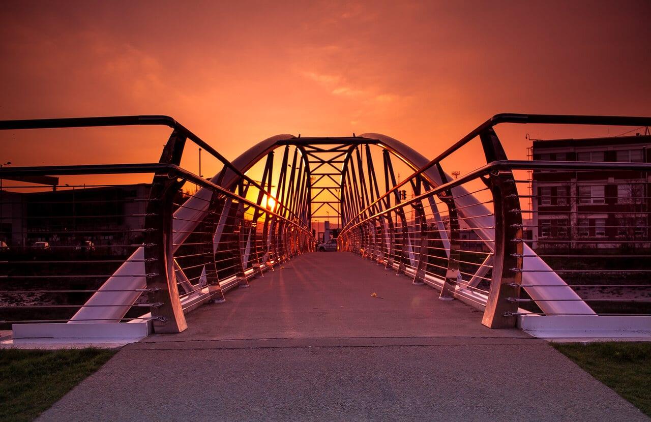 Sam Thompson Bridge, Sydenham, Belfast
