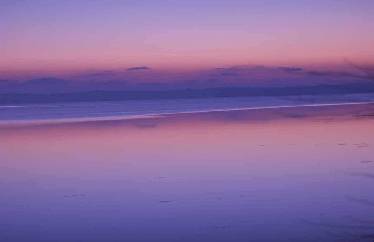 Series 3_ 'Sunrise over Strangford Lough'. Photo Art Graphic by H. Sharkey