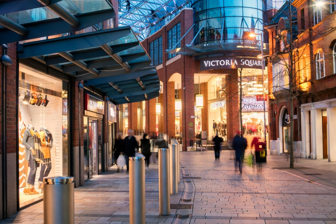 Shopping in Belfast City Centre