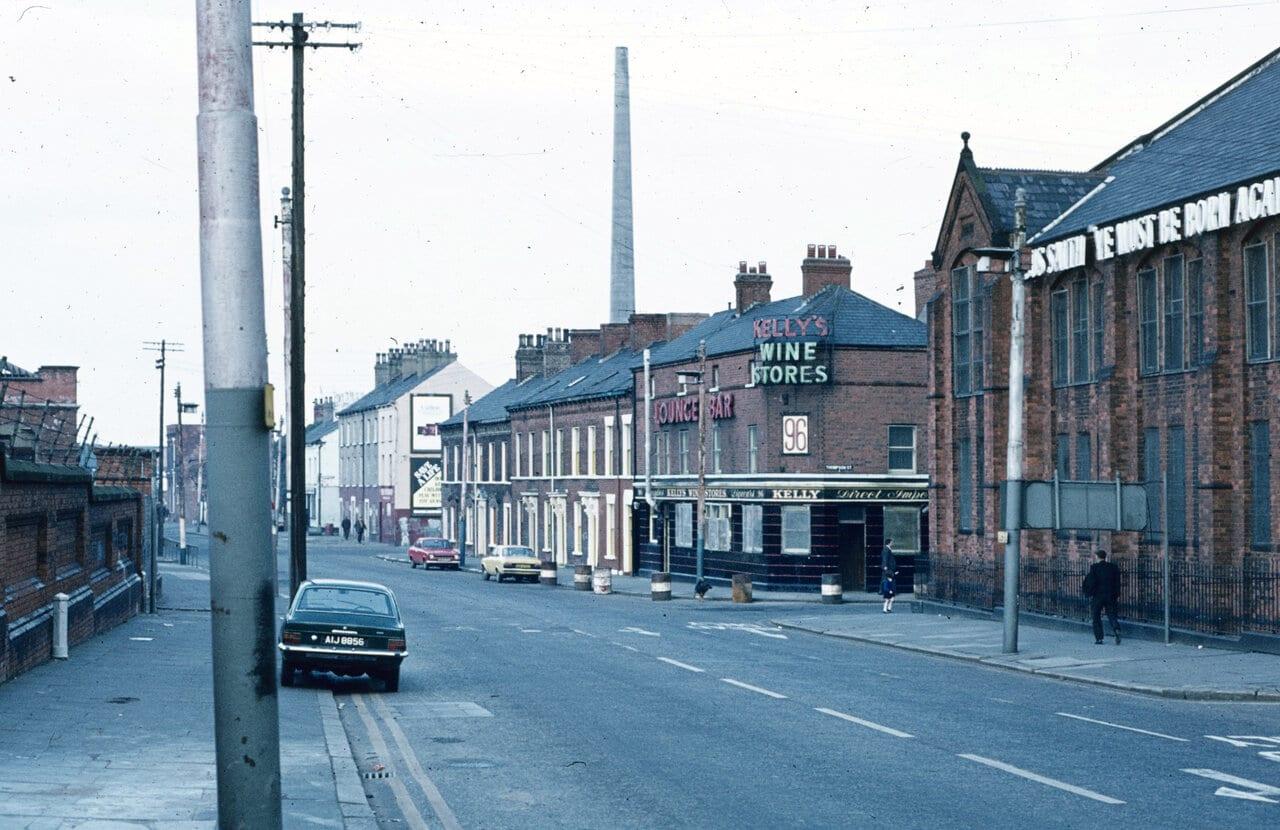 Short Strand, East Belfast 1974