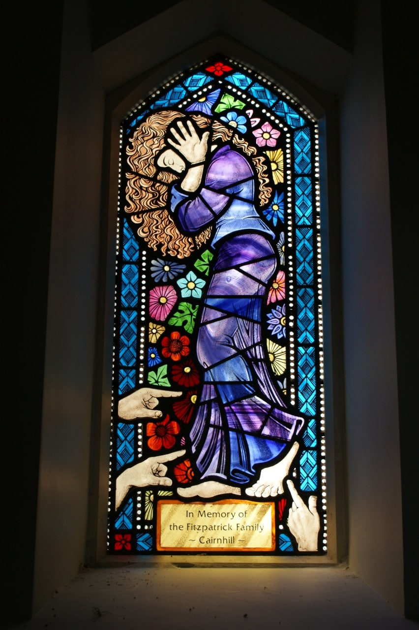 St Malachy's Church, Kilcoo. The Adulterous Wife.