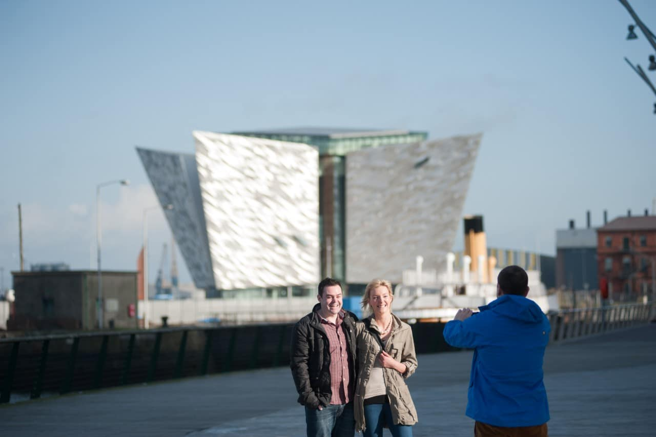Titanic Belfast and SS Nomadic Belfast with Jan Carson
