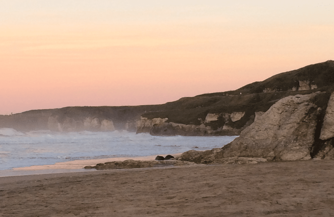 Whiterocks sunset
