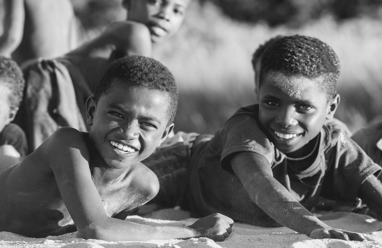 Boys from Madagascar