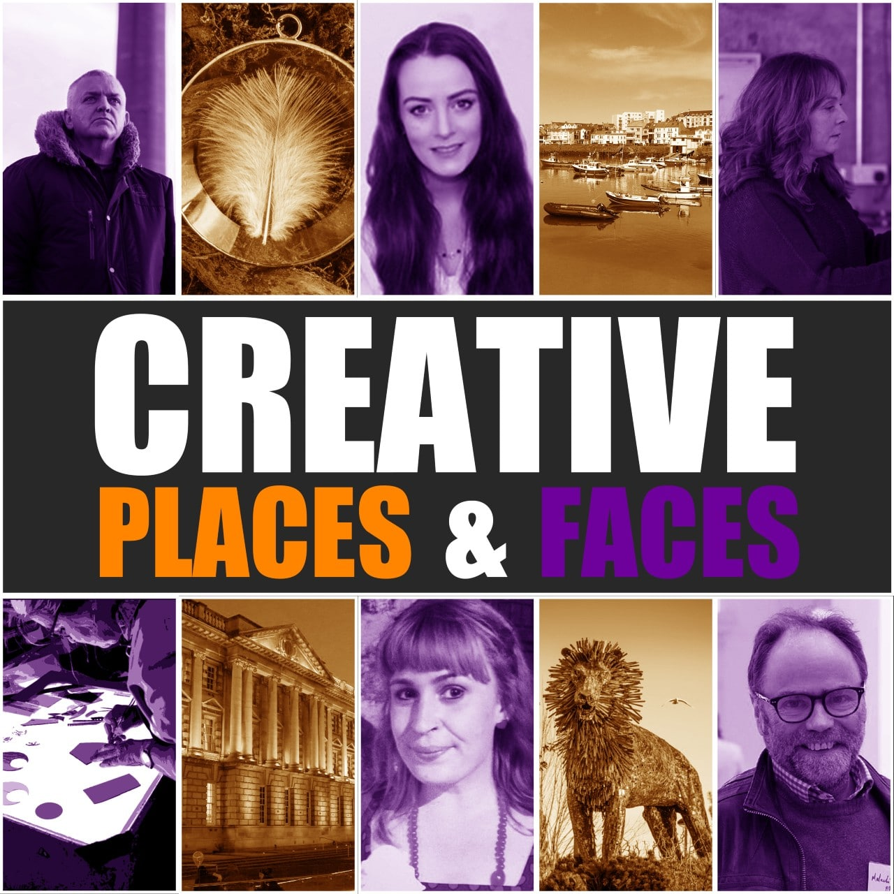 Creative Places & Faces Podcast Cover